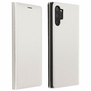 Avizar Etui folio Blanc Porte-Carte pour Samsung Galaxy Note 10 Plus Etui folio Blanc avec porte-carte Samsung Galaxy Note 10 Plus