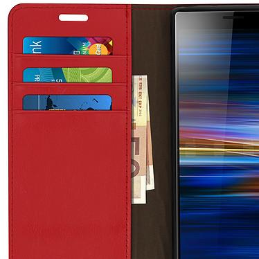 Avis Avizar Etui folio Rouge pour Sony Xperia 10