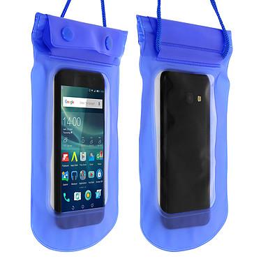 Avizar Housse étanche Bleu pour Smartphones de taille max : 167,6 x 88 mm Housse étanche Bleu Smartphones de taille max : 167,6 x 88 mm