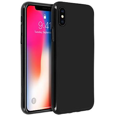 Avizar Coque Noir Souple pour Apple iPhone X , Apple iPhone XS Coque Noir souple Apple iPhone X , Apple iPhone XS