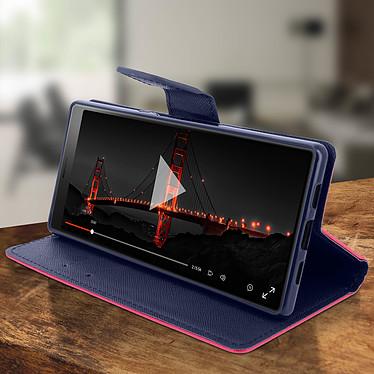 Avis Avizar Etui folio Fuchsia pour Sony Xperia 10 Plus