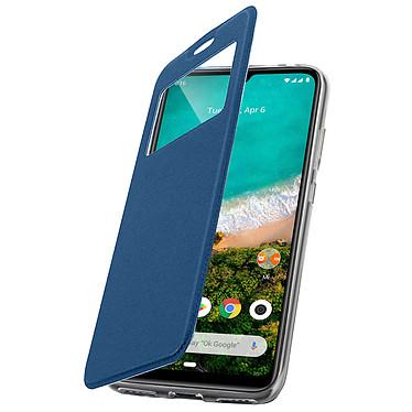 Avizar Etui folio Bleu pour Xiaomi Mi A3 pas cher