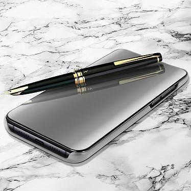 Avizar Etui folio Argent pour Xiaomi Mi 9 pas cher