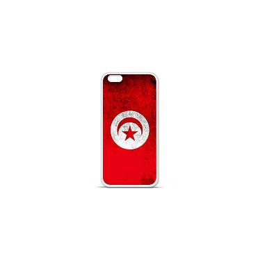 1001 Coques Coque silicone gel Apple IPhone 7 Plus motif Drapeau Tunisie Coque silicone gel Apple IPhone 7 Plus motif Drapeau Tunisie