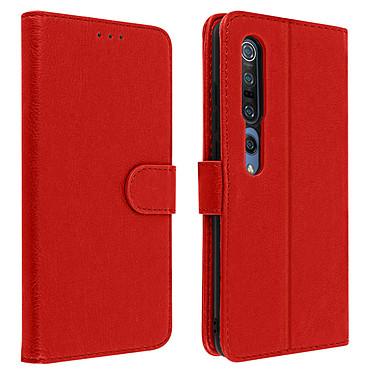 Avizar Etui folio Rouge pour Xiaomi Mi 10 , Xiaomi Mi 10 Pro Etui folio Rouge Xiaomi Mi 10 , Xiaomi Mi 10 Pro