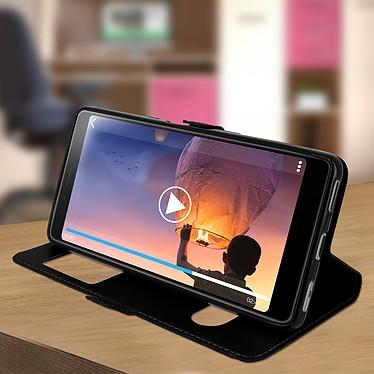 Avis Avizar Etui folio Noir pour Sony Xperia L3