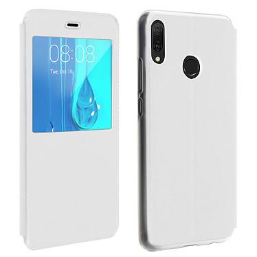 Avizar Etui folio Blanc pour Huawei Y9 2019 Etui folio Blanc Huawei Y9 2019