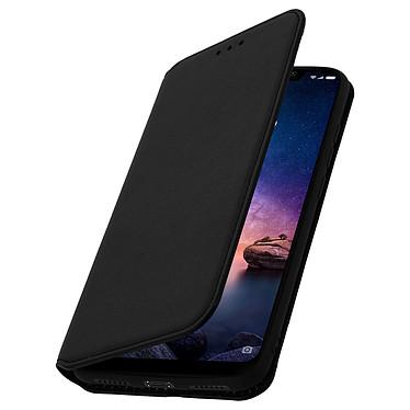 Avizar Etui folio Noir Stand Vidéo pour Xiaomi Redmi Note 6 Pro pas cher