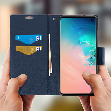 Acheter Avizar Etui folio Fuchsia pour Samsung Galaxy S10