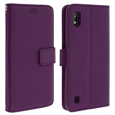 Avizar Etui folio Violet pour Samsung Galaxy A10 Etui folio Violet Samsung Galaxy A10