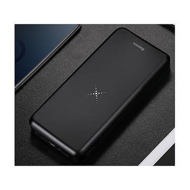 Avis Baseus Batterie externe Chargeur sans fil Qi 10000 mAh Double USB Baseus Noir