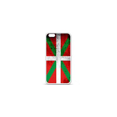 1001 Coques Coque silicone gel Apple IPhone 7 Plus motif Drapeau Basque Coque silicone gel Apple IPhone 7 Plus motif Drapeau Basque