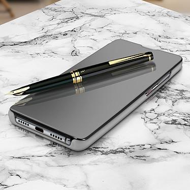 Avizar Etui folio Argent pour Huawei P30 Pro pas cher