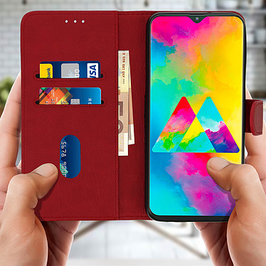 Acheter Avizar Etui folio Rouge pour Samsung Galaxy M20
