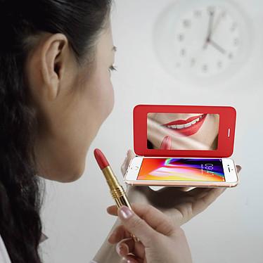 Acheter Avizar Etui folio Rouge pour Apple iPhone 7 , Apple iPhone 8 , Apple iPhone SE 2020