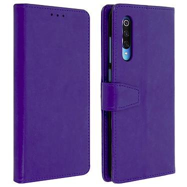 Avizar Etui folio Violet Éco-cuir pour Xiaomi Mi 9 Etui folio Violet éco-cuir Xiaomi Mi 9