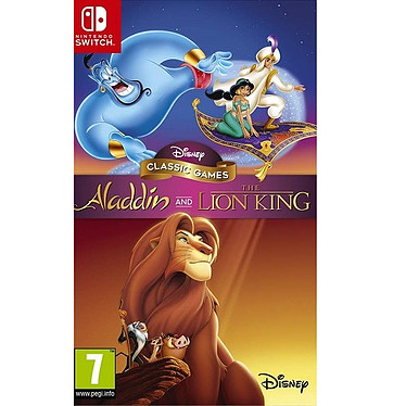 Aladdin and The Lion King (SWITCH) Jeu SWITCH Action-Aventure 7 ans et plus