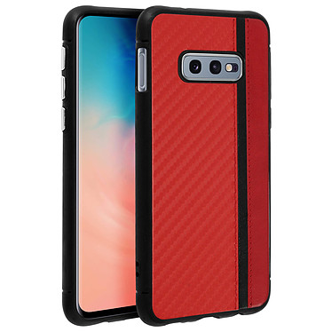 Avizar Coque Rouge Bi-matièrespour Samsung Galaxy S10e pas cher