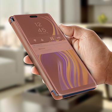 Avis Avizar Etui folio Rose Champagne Translucide pour Samsung Galaxy Note 9
