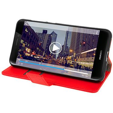 Avis Avizar Etui folio Rouge pour Huawei P8 Lite (2017) , Honor 8 Lite