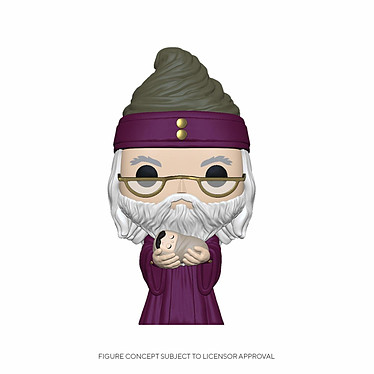 Harry Potter - Figurine POP! Dumbledore w/Baby Harry 9 cm Figurine POP! Harry Potter, modèle Dumbledore w/Baby Harry 9 cm.