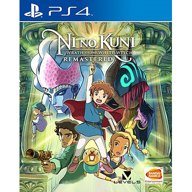 Ni No Kuni la Vengeance de la Sorciere Celeste (PS4) Jeu PS4 Action-Aventure 12 ans et plus
