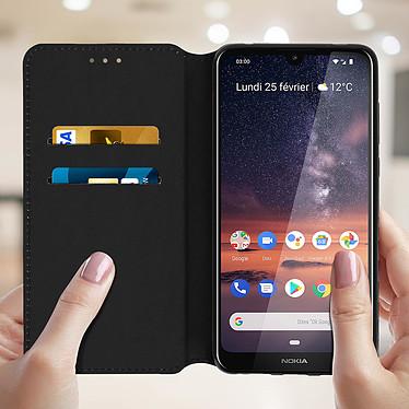 Acheter Avizar Etui folio Noir pour Nokia 3.2
