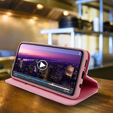 Avis Avizar Etui folio Rose Champagne pour Xiaomi Redmi Note 8 Pro