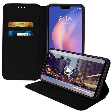 Avizar Etui folio Noir pour Xiaomi Mi 8 Lite pas cher