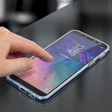 Avizar Coque Transparent pour Samsung Galaxy A6 pas cher