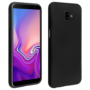 Avizar Coque Noir Souple pour Samsung Galaxy J6 Plus Coque Noir souple Samsung Galaxy J6 Plus