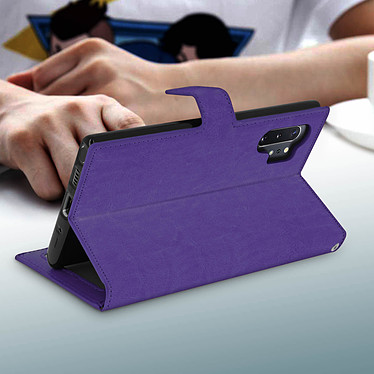 Avis Avizar Etui folio Violet pour Samsung Galaxy Note 10 Plus