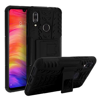 Avizar Coque Noir Hybride pour Xiaomi Redmi 7 pas cher