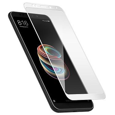 Avizar Film verre trempé Blanc pour Xiaomi Redmi 5 Plus Film verre trempé Blanc Xiaomi Redmi 5 Plus