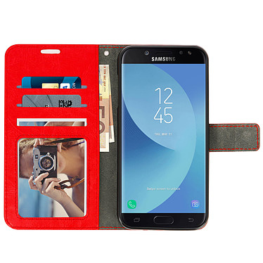 Avis Avizar Etui folio Rouge pour Samsung Galaxy J5 2017