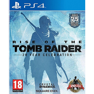 Rise of the Tomb Raider 20eme anniversaire (PS4) Jeu PS4 Action-Aventure 18 ans et plus