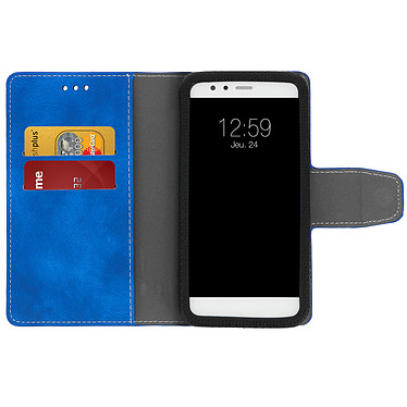 Acheter Avizar Etui folio Bleu pour Smartphones de 5.0' à 5.5'