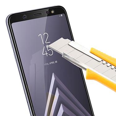 Avis Avizar Film verre trempé Noir pour Samsung Galaxy A6 Plus