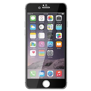 Avizar Film verre trempé Noir pour Apple iPhone 6 Plus , Apple iPhone 6S Plus pas cher