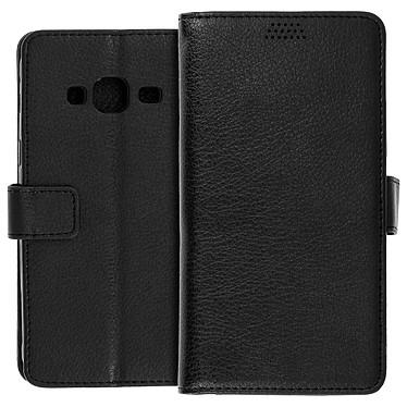 Avizar Etui folio Noir pour Samsung Galaxy J3 pas cher