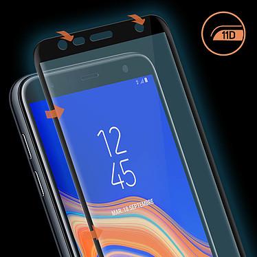 Avis Avizar Film verre trempé Noir pour Samsung Galaxy J6 Plus