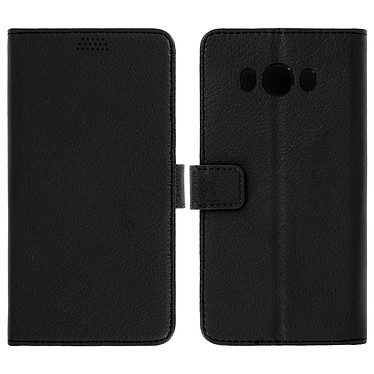 Avizar Etui folio Noir pour Samsung Galaxy J7 2016 pas cher