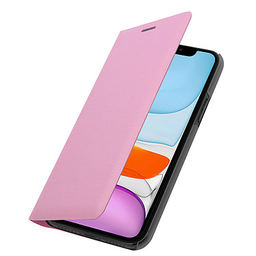Avizar Etui folio Rose pour Apple iPhone 11 pas cher