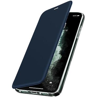 Avizar Etui folio Bleu Nuit pour Apple iPhone 11 Pro Max Etui folio Bleu Nuit Apple iPhone 11 Pro Max