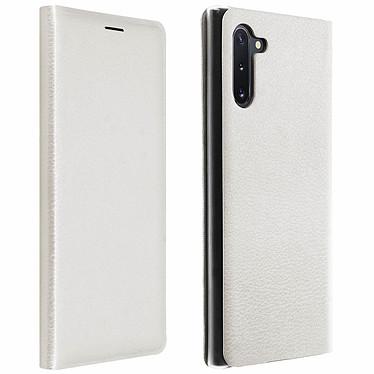 Avizar Etui folio Blanc pour Samsung Galaxy Note 10 Etui folio Blanc Samsung Galaxy Note 10