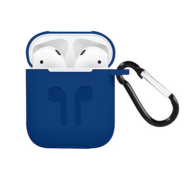 Avizar Coque Bleu Nuit pour Apple AirPods 1 et 2 pas cher