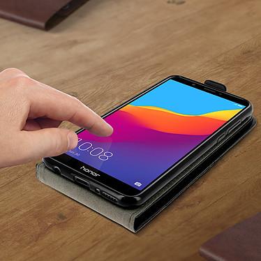 Acheter Avizar Etui à clapet Noir pour Honor 7C , Huawei Y7 2018