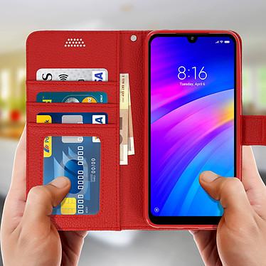 Acheter Avizar Etui folio Rouge pour Xiaomi Redmi 7