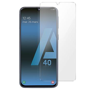 Avizar Film verre trempé Transparent pour Samsung Galaxy A40 pas cher