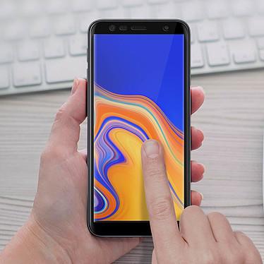 Acheter Avizar Film verre trempé Noir pour Samsung Galaxy J6 Plus